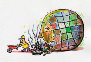 Как организовать уборку мусора