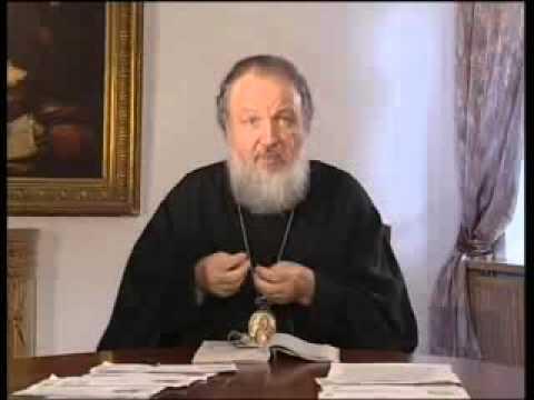 Почему православному христианину нельзя равнодушно относиться к экологическим проблемам, Патриарх Кирилл