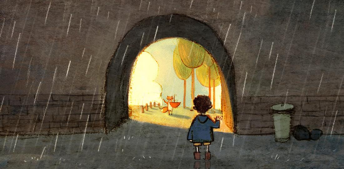 The Song for Rain/Песня дождя (анимация)