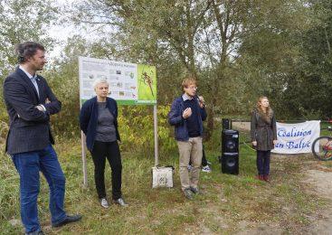 На южном берегу реки Мухавец в Бресте появилась новая экологическая тропа «Дорога жизни».